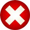 logo erreur croix rouge