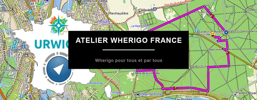 Atelier Wherigo France Logo